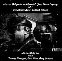 Detroit's Jazz Piano Legacy - Live at Kerrytown Concert House CD cover